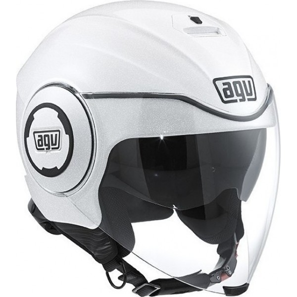 AGV FLUID SOLID- PEARL WHITE