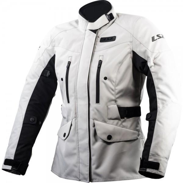 LS2 Metropolis Ladies Jacket Light Grey